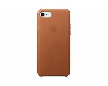 Bruine leather case voor de iphone 8 / 7 / 6 / 6s bij OfficieleHoesjes.nl