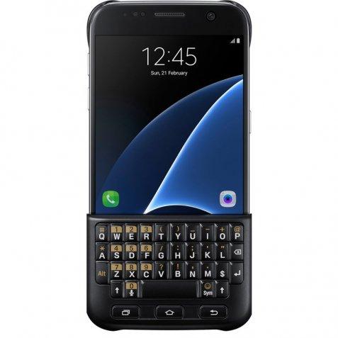 Samsung Galaxy S7 Keyboard Cover Zwart