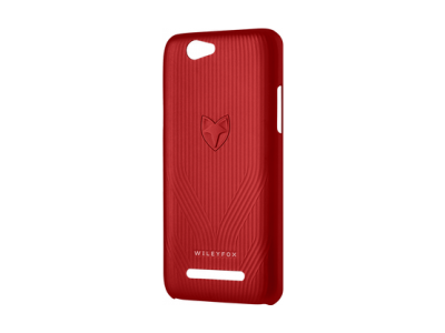 Wileyfox Spark+ Back Cover Rood