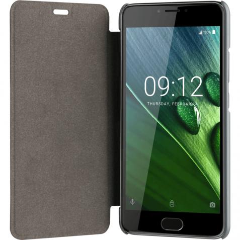 Acer Liquid Z6 Plus Book Case Grijs