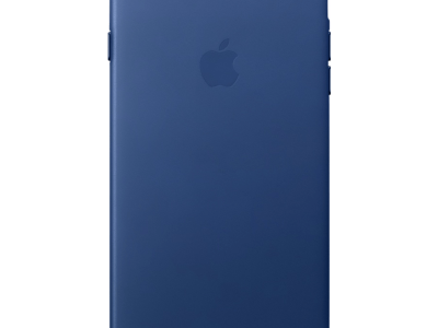 Apple iPhone 7 Plus/8 Plus Leather Case Blauw