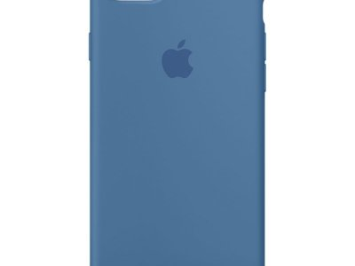 Apple iPhone 7/8 Silicone Back Cover Jeansblauw