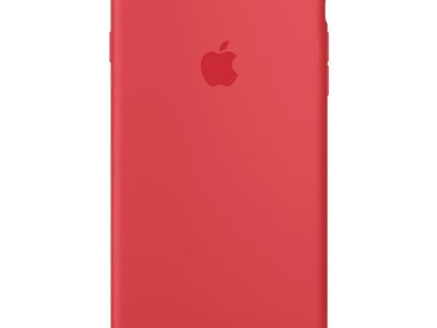 Apple iPhone 7 Plus/8 Plus Silicone Back Cover Frambozenrood