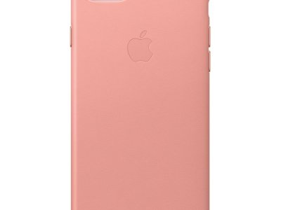 Apple iPhone 7/8 Leather Back Cover Zachtroze