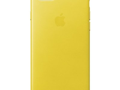 Apple iPhone 7/8 Leather Back Cover Lentegeel