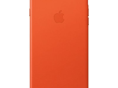 Apple iPhone 7 Plus/8 Plus Leather Back Cover Feloranje
