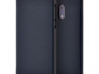 Nokia 5 Slim Flip Book Case Blauw