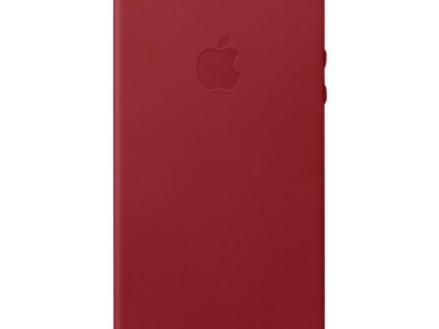 Apple iPhone 5/5S/SE Leather Back Cover Rood