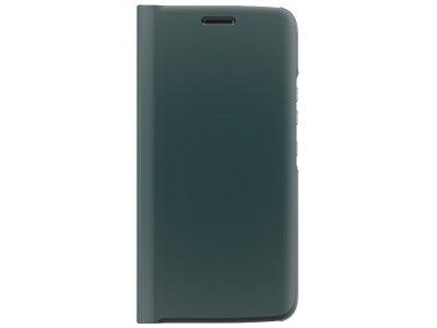 Motorola Moto X4 Flip Cover Book Case Groen