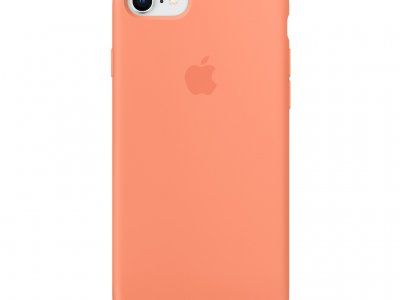 Apple iPhone 7/8 Silicone Back Cover Perzik