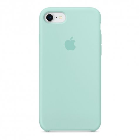 Apple iPhone 7/8 Silicone Back Cover Mintgroen