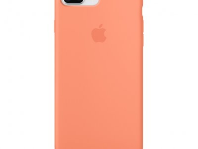Apple iPhone 7 Plus/8 Plus Silicone Back Cover Perzik