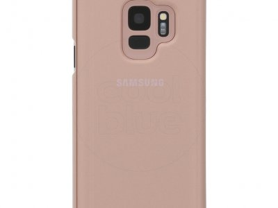 Samsung Galaxy S9 Clear Stand View Cover Goud