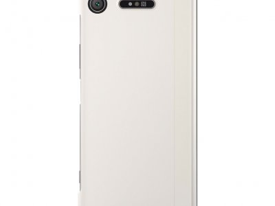 Sony Xperia XZ1 Style Touch Book Case Zilver