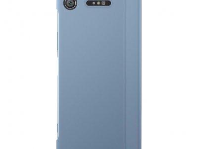 Sony Xperia XZ1 Style Touch Book Case Blauw