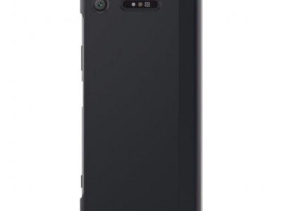 Sony Xperia XZ1 Style Touch Book Case Zwart