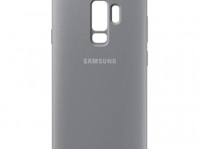Samsung Galaxy S9 Plus Silicone Back Cover Grijs
