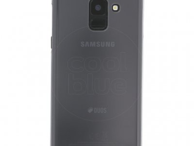 Samsung Galaxy A8 (2018) Clear Back Cover Transparant