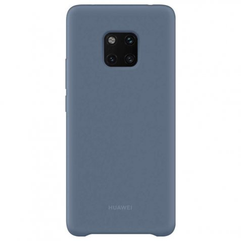 Huawei Magnetic Silicone Huawei Mate 20 Pro Back cover Blauw