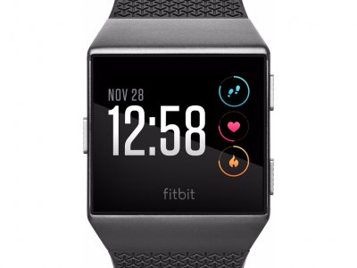 Fitbit Ionic Charcoal & Smoke Gray