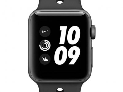 Apple Watch Series 3 Nike+ 42mm Space Gray Aluminium/Zwart