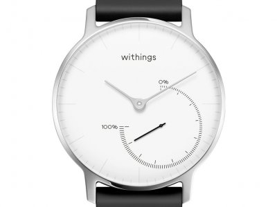 Withings Steel Zwart/Wit