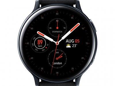 Samsung Galaxy Watch Active2 Zwart 44 mm RVS