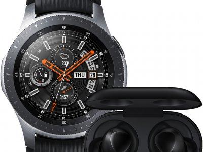 Samsung Galaxy Watch 46 mm Silver + Samsung Galaxy Buds