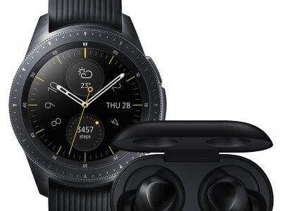 Samsung Galaxy Watch 42 mm Black + Samsung Galaxy Buds