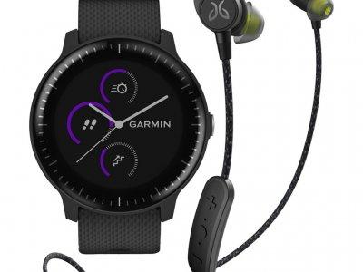 Garmin Vivoactive 3 Music Zwart + Jaybird Tarah Pro Wireless Sport Oordopjes