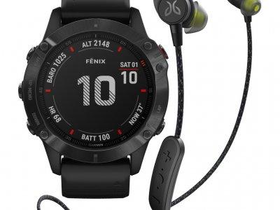 Garmin Fenix 6X PRO - Zwart - 51 mm + Jaybird Tarah Pro Wireless Sport Oordopjes