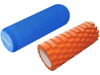 Tunturi Yoga Massage Roller + Yoga Foam Grid Roller