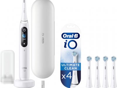 Oral-B iO - 9n Wit Powered By Braun + 4 borstels