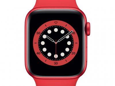 Apple Watch Series 6 40mm RED Aluminium RED Sportband