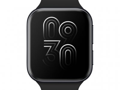 OPPO Watch Zwart 41 mm