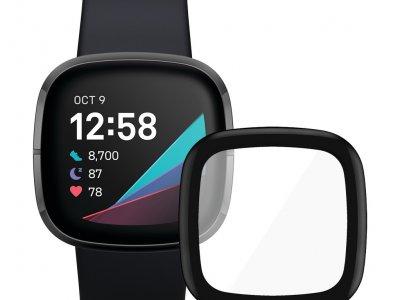 Fitbit Sense Grijs + PanzerGlass Fitbit Sense