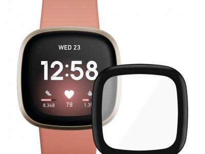 Fitbit Versa 3 Roze/Goud + PanzerGlass Fitbit Sense