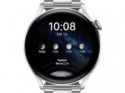 Huawei Watch 3 Elite 4G Zilver/Zilver 46mm