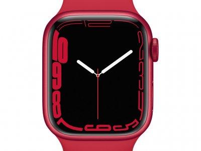 Apple Watch Series 7 41mm RED Aluminium RED Sportband